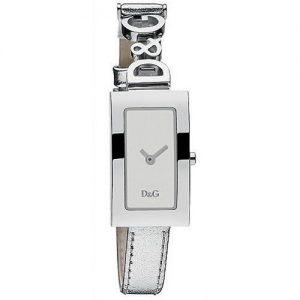Orologio da donna D&G DW0264 cinturino in pelle colore argento. Orologio da polso (solo tempo), movimento al quarzo.