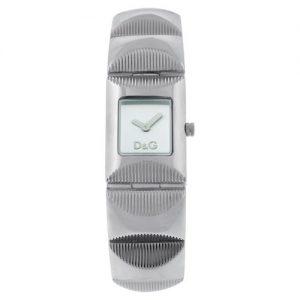 Orologio da donna D&G Dw0322, in acciaio inox con movimento al quarzo.La forma della cassa è rettangolare in acciaio lucidato.Il Quadrante colore silver, vetro minerale temperato con cinturino in acciaio, l'orologio è Impermeabile fino a 30 mt.
