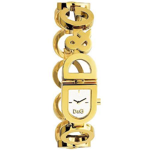 Orologio da donna D&G DW0130, collezione DAY & NIGHT, cassa e bracciale acciaio dorato.Orologio da polso solo tempo con movimento al quarzo.