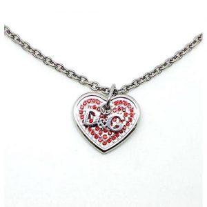 dettaglio collana D&g cuore