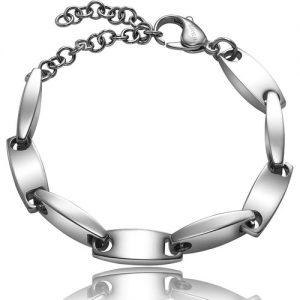 Bracciale Uomo Breil TJ1211 collezione Chain realizzato in acciaio lucido e chiusura a moschettone.