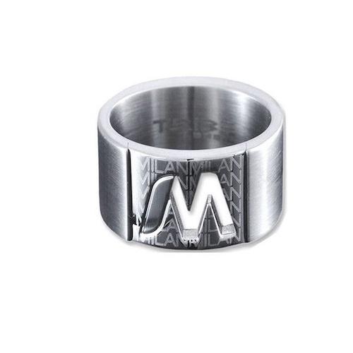 Anello da uomo Breil TJ0245,in acciaio inossidabile misura 22