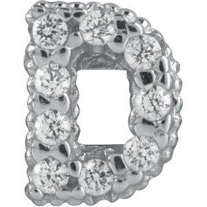 Charm gioielli Bliss 20075726 della collezione Mywords.Charm passante in argento con lettera D. Questo Charm è compatibile con i bracciali tennis di Bliss della collezione Mywords, Puoi decidere cosi di personalizzare il tuo bracciale
