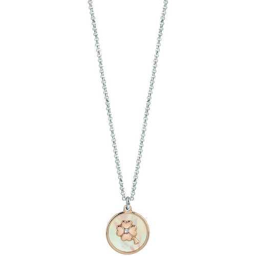 Collana Donna Gioielli Bliss 20083985 della Collezione Coccole. Collana In Argento Con Madreperla. Gioiello Della Lunghezza Di Cm 42.