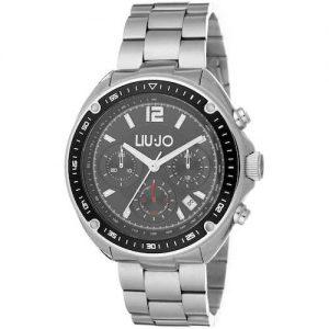 Orologio Cronografo Uomo Liujo TLJ1082 della collezione Freeman Silver. Cassa in acciaio di forma rotonda, il suo diametro è 44Mm. Cinturino In Acciaio, la resistenza all'acqua è di 5 ATM, datario: Si.