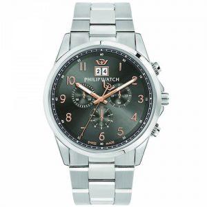 Orologio Cronografo Uomo Philip Watch R8273612001 della collezione Capetown.